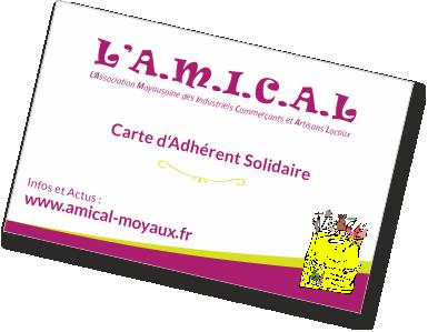 carte réduction commerces entreprises artisans moyaux