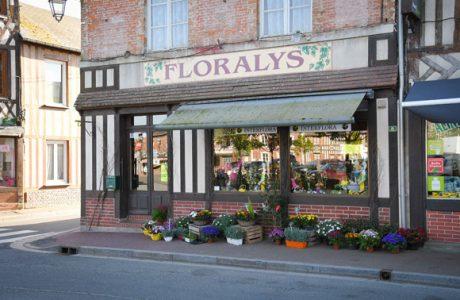 floralys fleuriste amical commercants moyaux calvados normandie