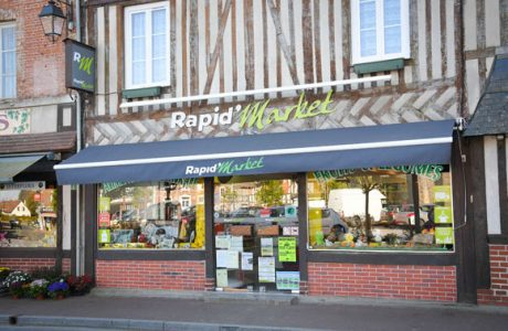 rapidmarket amical commercants moyaux calvados normandie