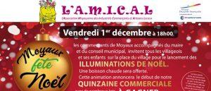 Marché de Noël 2017 et Quinzaine Commerciale de l'A.M.I.C.A.L de Moyaux