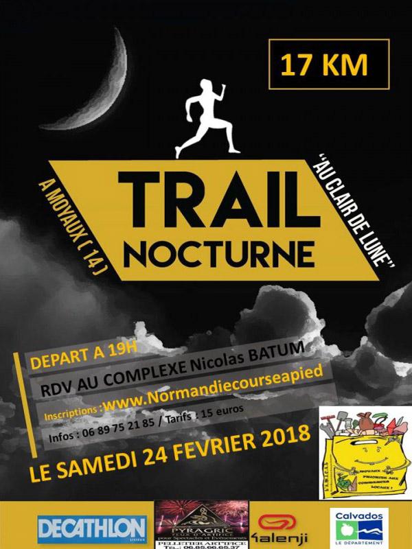 2ème Trail au clair de lune 2017 Amical Moyaux