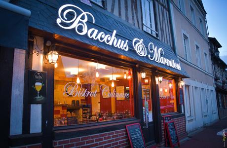 bacchus marmitons restaurant amical moyaux