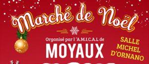 Marché de Noël 2018 et Quinzaine Commerciale de l'A.M.I.C.A.L de Moyaux