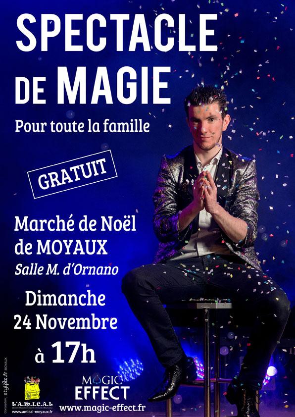 Magie Marché Noël Moyaux 2019