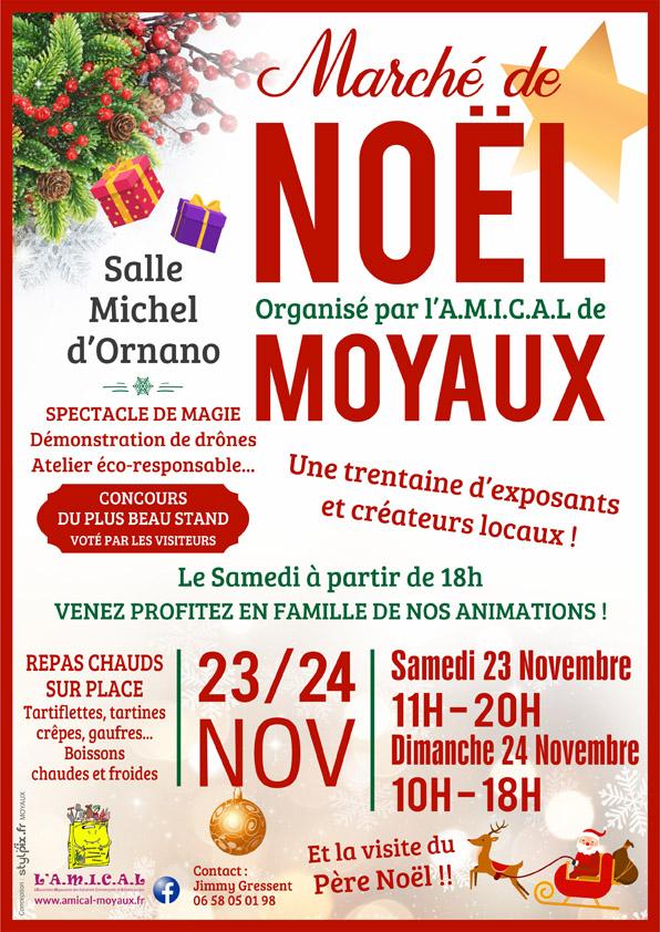 Marche de Noël Moyaux 2019