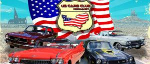 Rassemblement de voitures Américaines