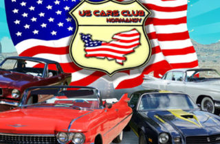 voitures américaines collection Moyaux normandie